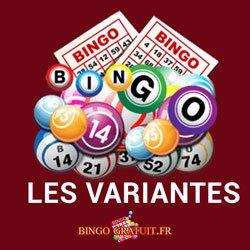 les variants du jeu de bingo